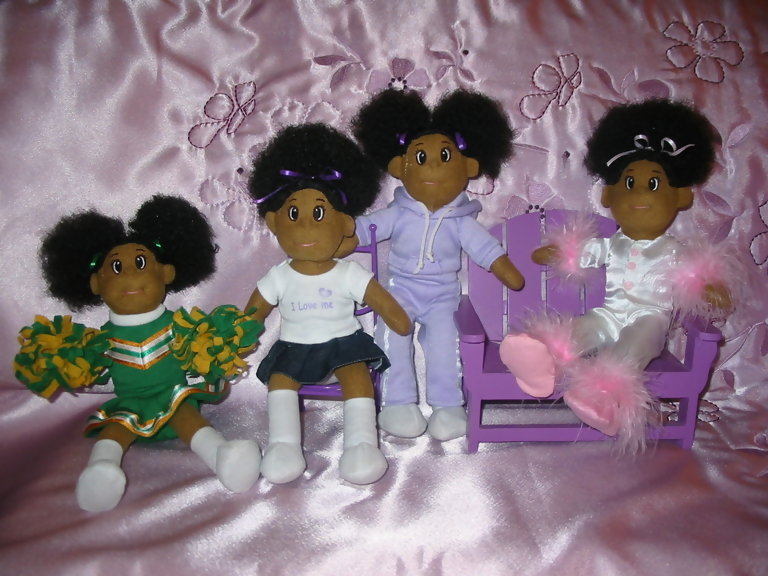 Astounding African American Dolls With Natural Hair Afro Puffs And Natural Hairstyles Runnerswayorg